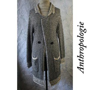 Anthropologie Sweater Cardigan Shawl By HWR Size M